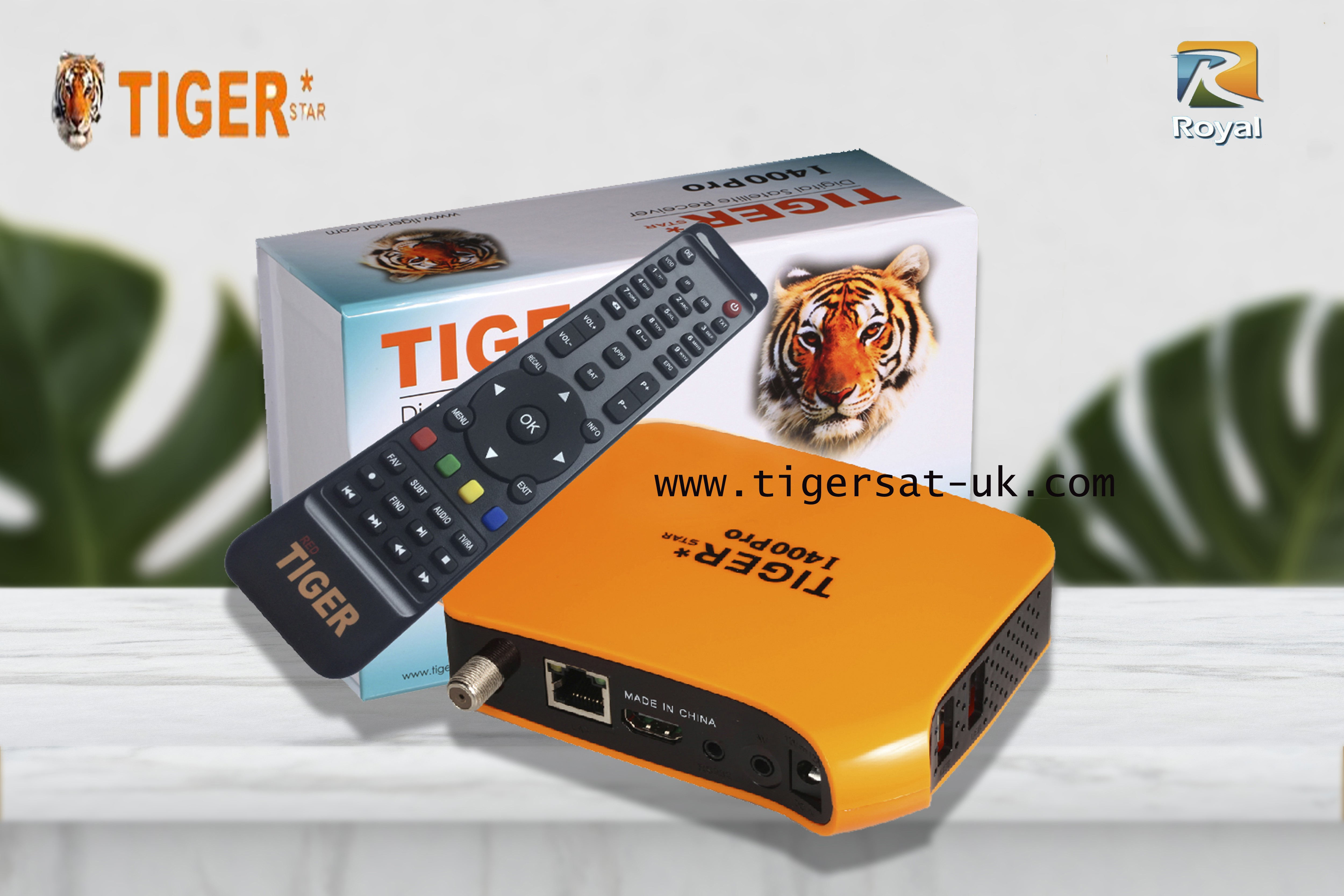 Tiger star I400 pro color Orange